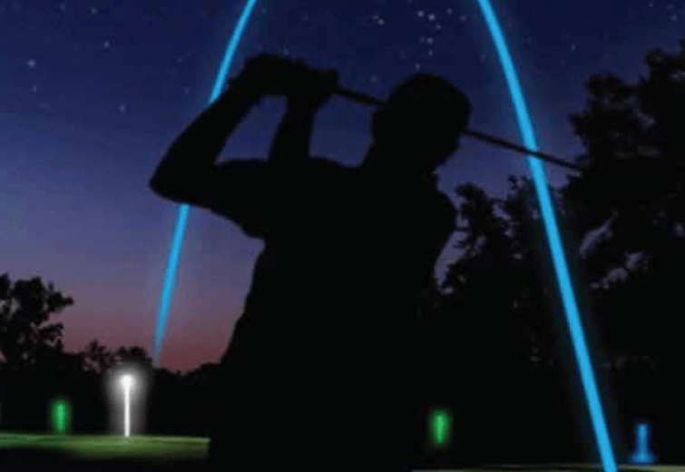 Nighttime Golf